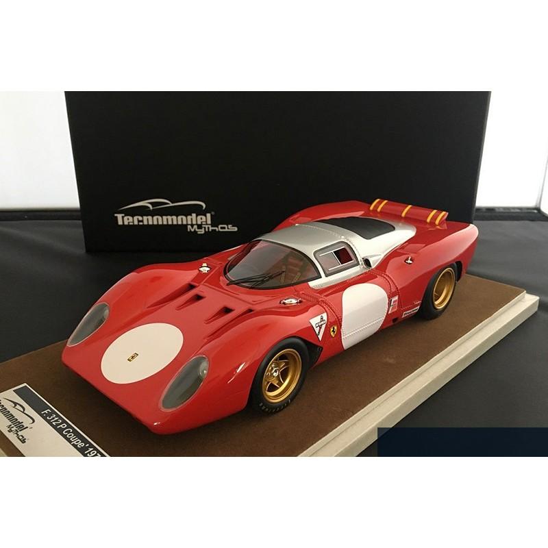 Ferrari 312p Coupe Test Monza 1970 Tecnomodel Tm1835a