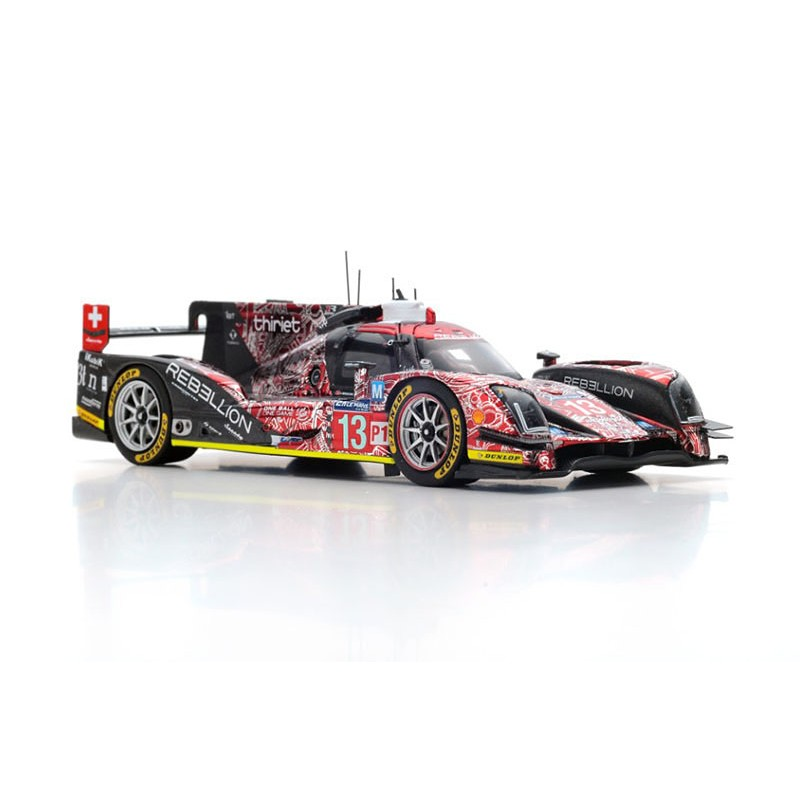 rebellion r one aer 13 24 heures du mans 2016 spark s5107 miniatures minichamps. Black Bedroom Furniture Sets. Home Design Ideas