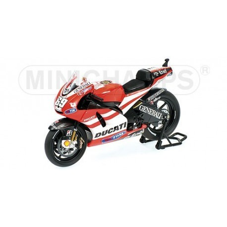 Ducati Desmosedici GP11 Moto GP 2011 Nicky Hayden Minichamps 123110069