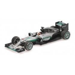 Mercedes W07 Hybrid F1 Chine 2016 Lewis Hamilton Minichamps 417160244