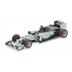 Mercedes F1 W05 F1 Malaisie 2014 Lewis Hamilton Minichamps 410140144