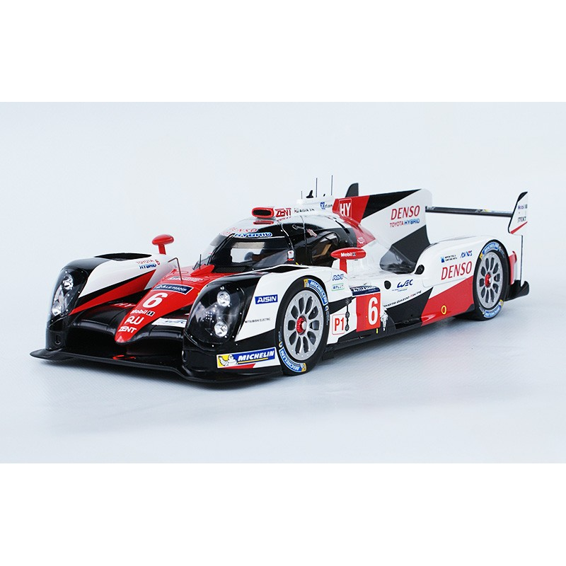toyota ts050 hybrid 6 24 heures du mans 2016 spark 18s265 miniatures minichamps. Black Bedroom Furniture Sets. Home Design Ideas