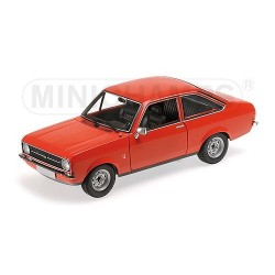 Ford Escort II 1975 Orange Minichamps 150084100