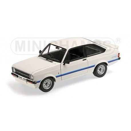 Ford Escort II RS 1800 1975 Blanche Minichamps 150084470