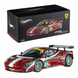 Ferrari 458 GT2 AF Corse 51 24 Heures du Mans 2011 Hotwheels X5497