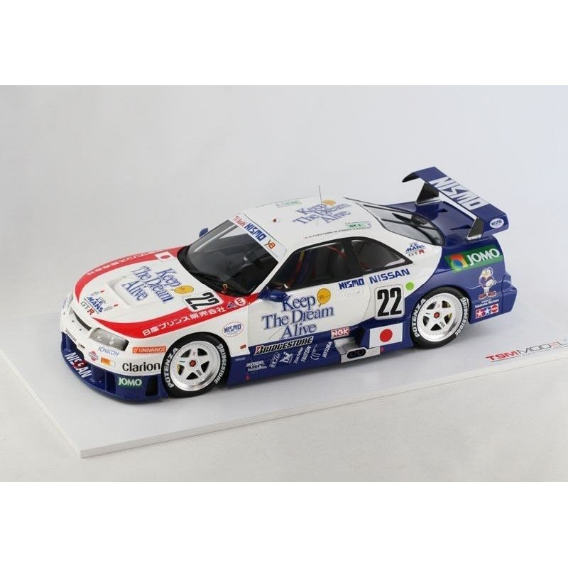 nissan skyline gt r lm 22 24 heures du mans 1995 truescale tsm151825r miniatures minichamps. Black Bedroom Furniture Sets. Home Design Ideas