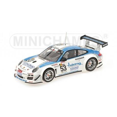 Porsche 911 GT3 R 53 24 Heures de Spa 2010 Minichamps 151108953