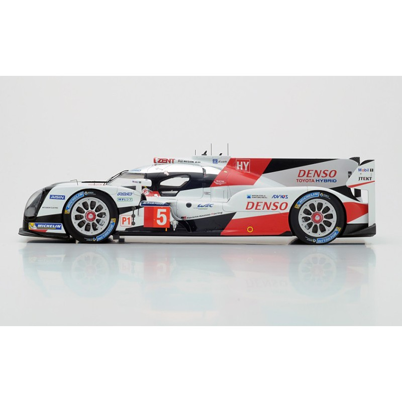 toyota ts050 hybrid 5 24 heures du mans 2016 spark 18s264 miniatures minichamps. Black Bedroom Furniture Sets. Home Design Ideas