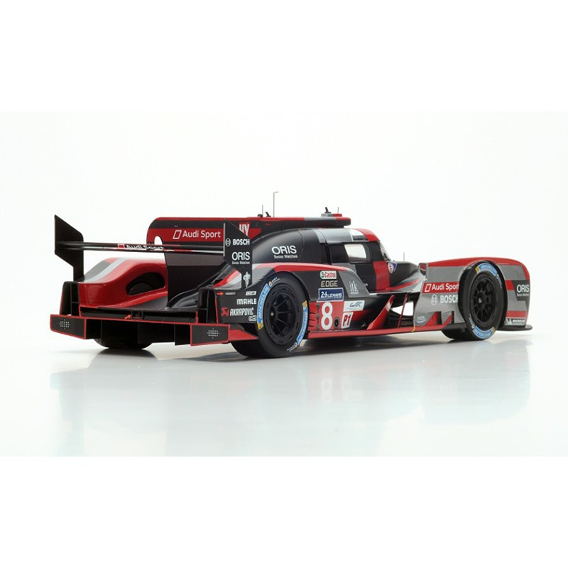 audi r18 8 24 heures du mans 2016 spark 18s267 miniatures minichamps. Black Bedroom Furniture Sets. Home Design Ideas