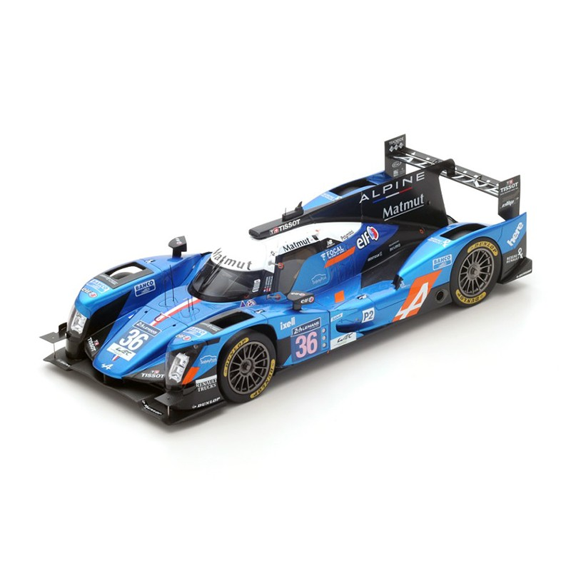 alpine a460 nissan 36 24 heures du mans 2016 spark 18s269 miniatures minichamps. Black Bedroom Furniture Sets. Home Design Ideas