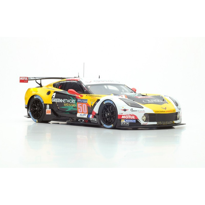 chevrolet corvette c7r 50 24 heures du mans 2015 spark 18s202 miniatures minichamps. Black Bedroom Furniture Sets. Home Design Ideas