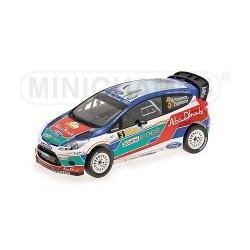 Ford Fiesta RS 3 WRC Australie 2011 Hirvonen/Lehtinen Minichamps 151110803