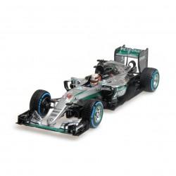 Mercedes F1 W07 Hybrid 44 F1 Brésil 2016 Lewis Hamilton Minichamps 417160644