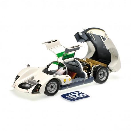 Porsche 906K 58 24 Heures du Mans 1966 Minichamps 100666158