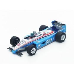 Ligier JS19 F1 Monaco 1982 Jacques Laffite Spark S4817