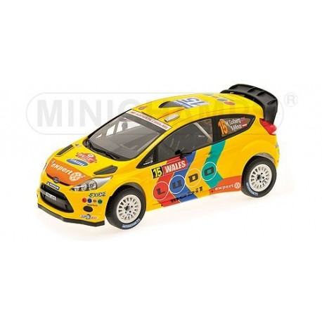 Ford Fiesta RS 15 WRC Angleterre 2011 Solberg Minor Minichamps 151110815