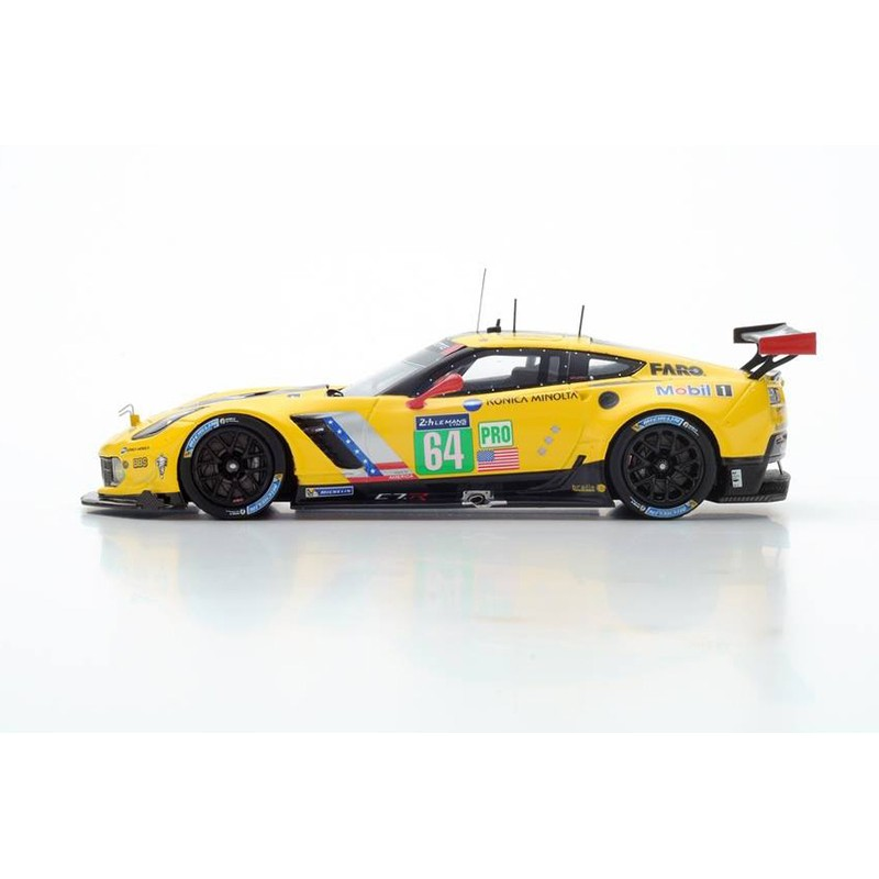 chevrolet corvette c7 r 64 24 heures du mans 2016 spark s5132 miniatures minichamps. Black Bedroom Furniture Sets. Home Design Ideas