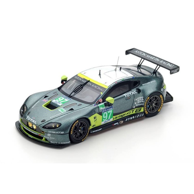 aston martin vantage 97 24 heures du mans 2016 spark s5137 miniatures minichamps. Black Bedroom Furniture Sets. Home Design Ideas