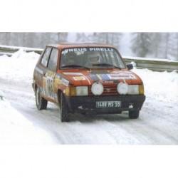 Talbot Samba 165 WRC Monte Carlo 1984 Delecour Pauwels IXO RAC171