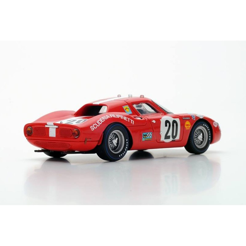 ferrari 250lm 20 24 heures du mans 1968 looksmart lslm043 miniatures minichamps. Black Bedroom Furniture Sets. Home Design Ideas