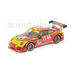 Porsche 911 GT3 R 18 24 Heures de Spa 2011 Minichamps 151118918