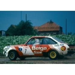 Ford Escort MKII RS1800 7 Rallye d'Ypres 1981 Droogmans Geron IXO RAC189