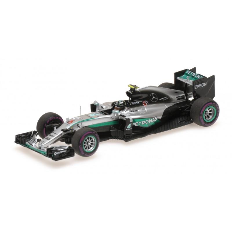 Mercedes W Hybrid F  Nico Rosberg Minichamps