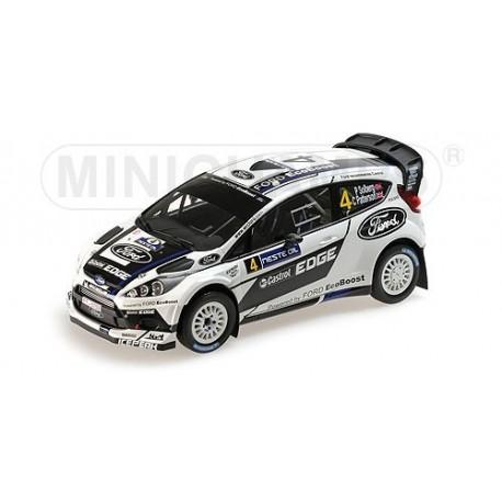 Ford Fiesta RS 4 WRC Finlande 2012 Solberg Patterson Minichamps 151120804