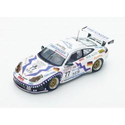 Porsche 996 GT3 RS 77 24 Heures du Mans 2001 Spark S4760
