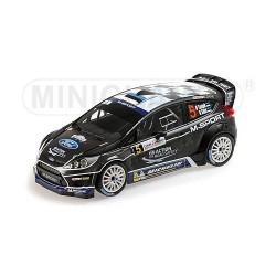 Ford Fiesta RS 5 WRC France Alsace 2012 Tanak Sikk Minichamps 151120805