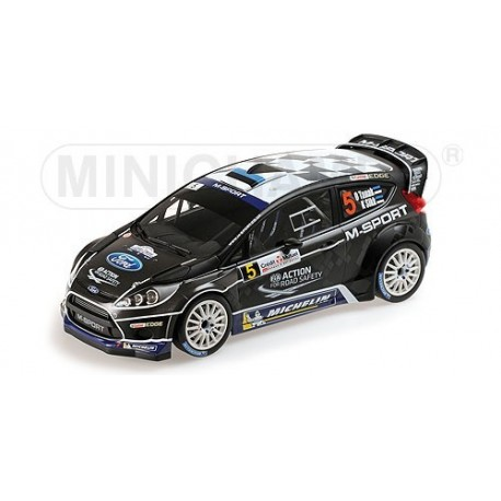 Ford Fiesta RS 5 WRC France Alsace 2012 Tanak Sikk Minichamps 151120805