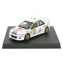 "Subaru Impreza WRC99 17 ""Version Phares de Nuit"" Rallye de Monte Carlo 1999 Panizzi - Panizzi Trofeu T1110"