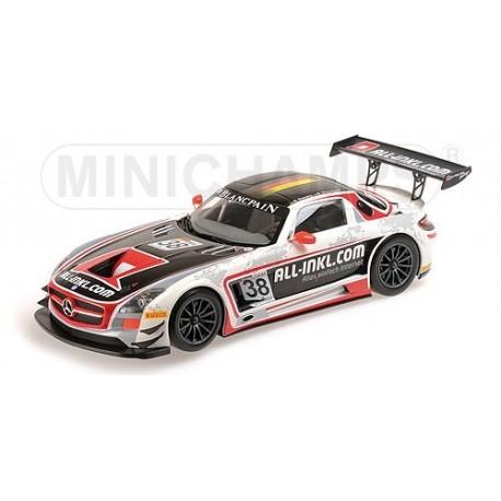 Mercedes SLS AMG GT3 38 FIA GT1 World Championship 2012 Minichamps 151123138