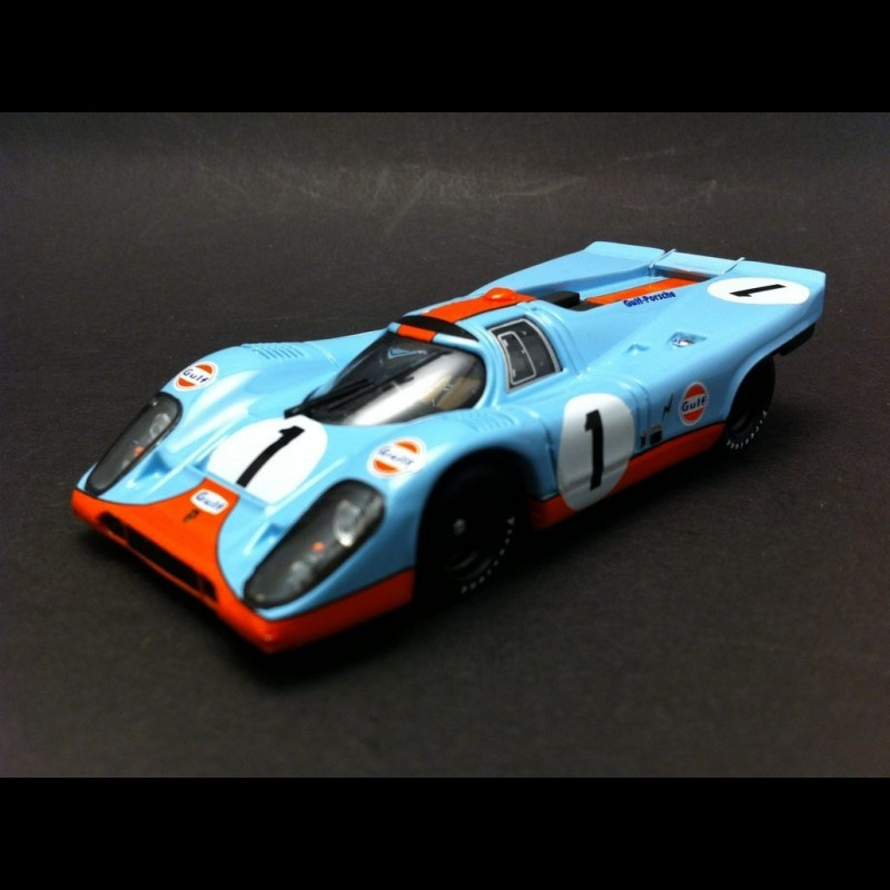 porsche 917 k gulf 1 24 heures de daytona 1971 siffert redman brumm r269 miniatures minichamps. Black Bedroom Furniture Sets. Home Design Ideas