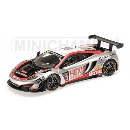 McLaren MP4/12C GT3 107 24 Heures de Spa-Francorchamps 2013 Minichamps 151131397