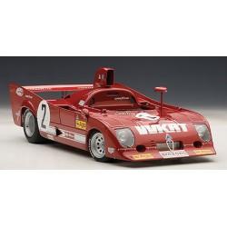 Alfa Romeo 33 TT 12 2 1000 Km de Monza 1975 Merzario Laffite Autoart 87504