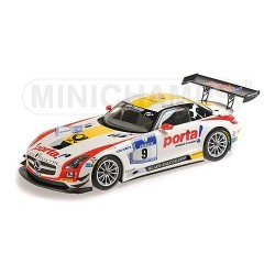 Mercedes SLS AMG GT3 9 24 Heures du Nurburgring 2013 Minichamps 151133109