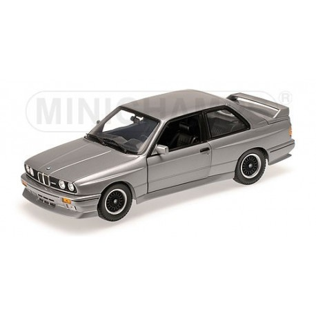 BMW M3 E30 1989 Silver Minichamps 180020305