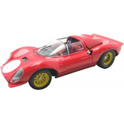 Ferrari Dino 206 S Prova Rouge 1966 Art Model ART029