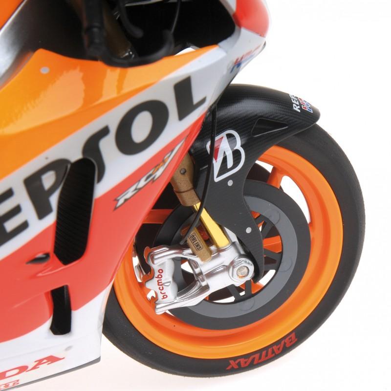 Honda RC213V Moto GP 2014 Marc Marquez Minichamps 122141193 - Miniatures Minichamps