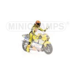 Figurine 1/12 Valentino Rossi GP 500 2001 Minichamps 312010046