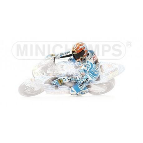 Figurine 1/12 Valentino Rossi GP 500 Mugello 2001 Minichamps 312010176