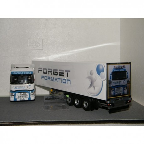 camion renault t semi forget formation eligor e116048 miniatures minichamps. Black Bedroom Furniture Sets. Home Design Ideas