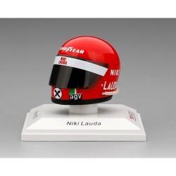 Helmet Niki Lauda F1 Ferrari 1975 1/8 Truescale TSMAC005