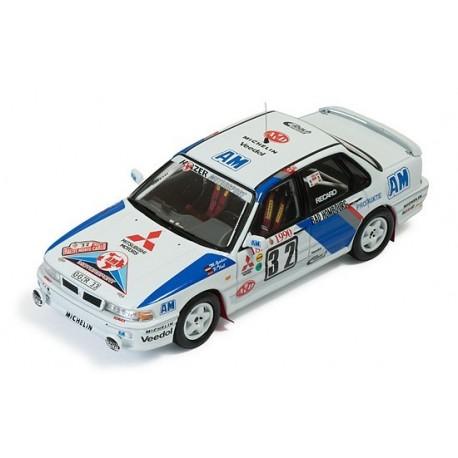 Mitsubishi Galant VR-4 Evo 32 Rallye Monte Carlo 1990 Gerber Thul IXO RAC231