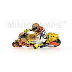 Figurine 1/12 Valentino Rossi Moto GP Valencia 2003 Minichamps 312030186