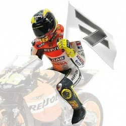 Figurine 1/12 Valentino Rossi Moto GP Philip Island 2003 Minichamps 312030196