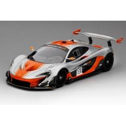 McLaren P1 GTR 2015 Silver - Orange Truescale TSM181006