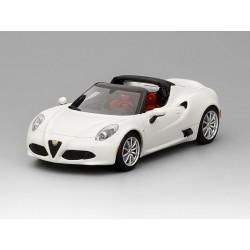 Alfa Romeo 4C Spider Blanche matt Truescale TSM430141
