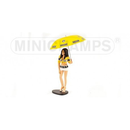 Figurine 1/12 Yamaha Grid Girl Moto GP Laguna Seca 2005 Minichamps 312050011